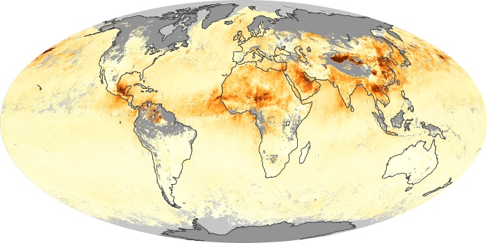 Global Map Aerosol Optical Depth Image 38