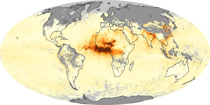Global Map Aerosol Optical Depth Image 59