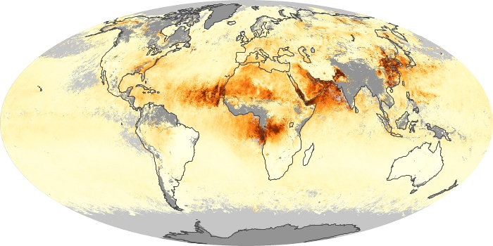Global Map Aerosol Optical Depth Image 65