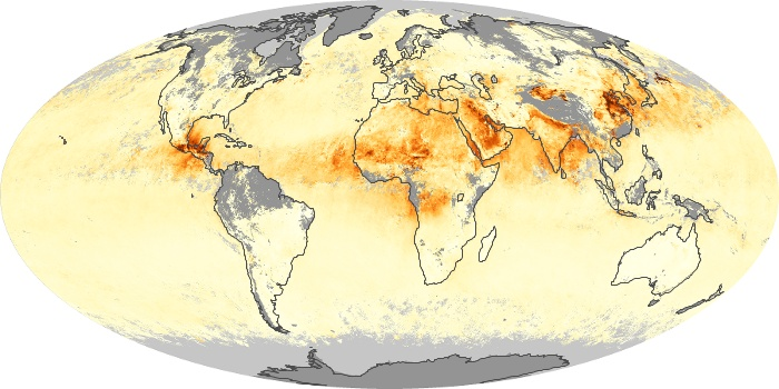Global Map Aerosol Optical Depth Image 159