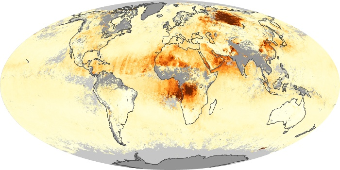 Global Map Aerosol Optical Depth Image 162
