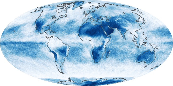 Global Map Cloud Fraction Image 3