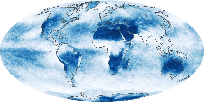 Global Map Cloud Fraction Image 19