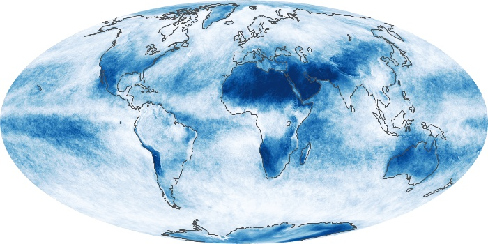 Global Map Cloud Fraction Image 21