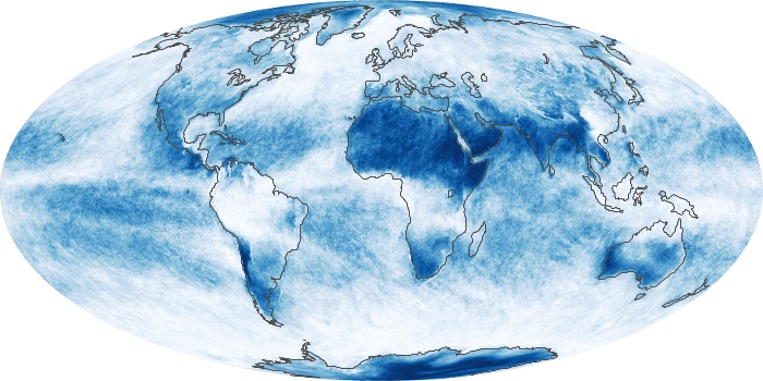 Global Map Cloud Fraction Image 25