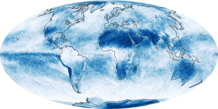 Global Map Cloud Fraction Image 38