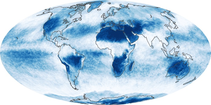 Global Map Cloud Fraction Image 41