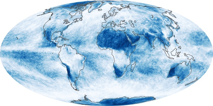 Global Map Cloud Fraction Image 18