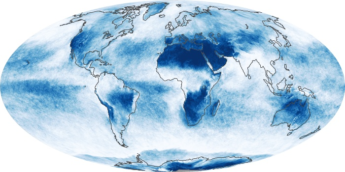 Global Map Cloud Fraction Image 53
