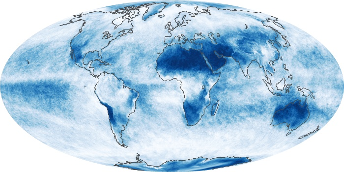 Global Map Cloud Fraction Image 28