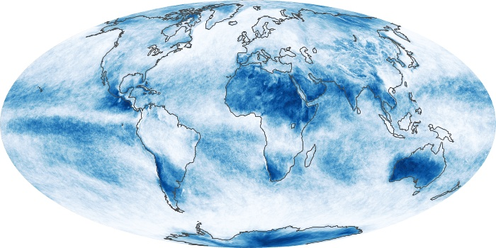Global Map Cloud Fraction Image 60