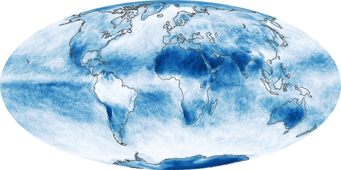 Global Map Cloud Fraction Image 62