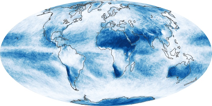 Global Map Cloud Fraction Image 42