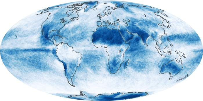 Global Map Cloud Fraction Image 46