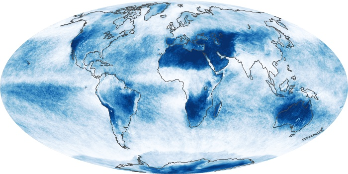 Global Map Cloud Fraction Image 79