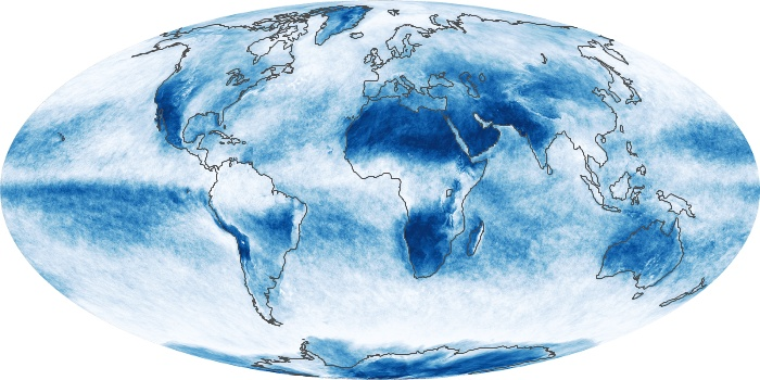 Global Map Cloud Fraction Image 59