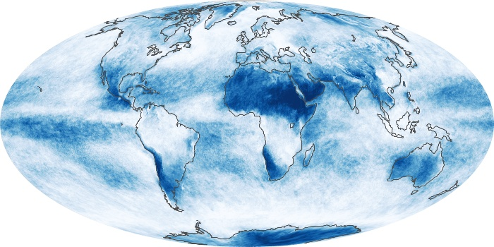 Global Map Cloud Fraction Image 66