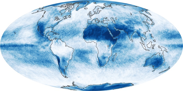 Global Map Cloud Fraction Image 69