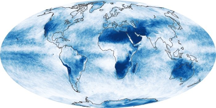 Global Map Cloud Fraction Image 103
