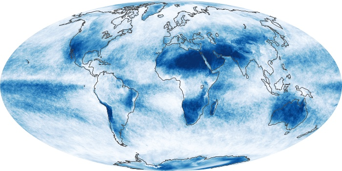 Global Map Cloud Fraction Image 104