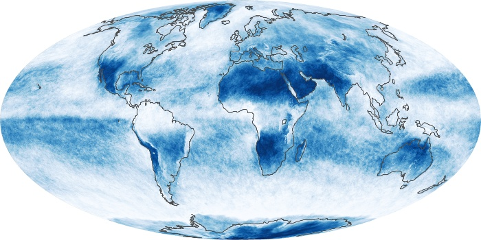 Global Map Cloud Fraction Image 107