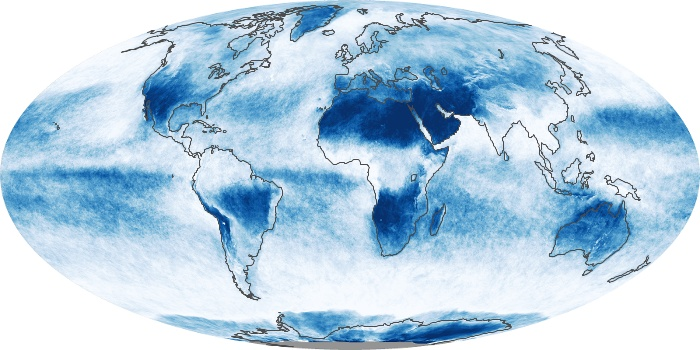 Global Map Cloud Fraction Image 108