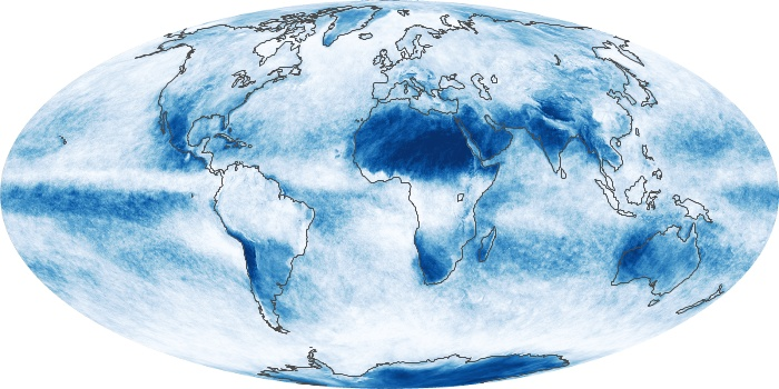 Global Map Cloud Fraction Image 113