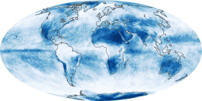 Global Map Cloud Fraction Image 118