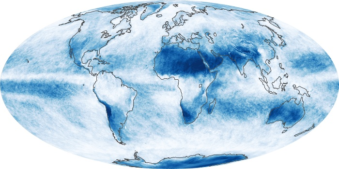 Global Map Cloud Fraction Image 166