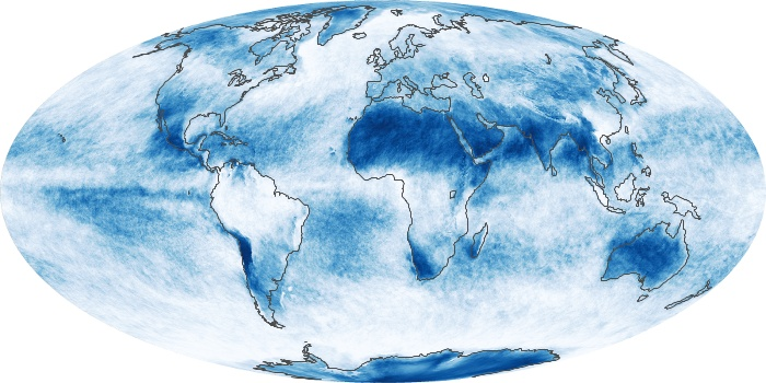 Global Map Cloud Fraction Image 169