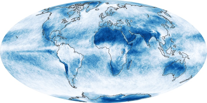 Global Map Cloud Fraction Image 142