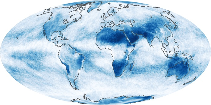 Global Map Cloud Fraction Image 189
