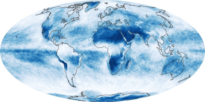 Global Map Cloud Fraction Image 167
