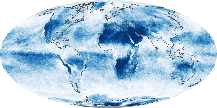 Global Map Cloud Fraction Image 197