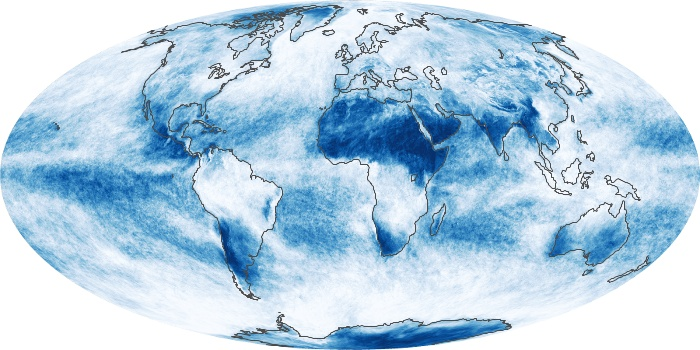 Global Map Cloud Fraction Image 204