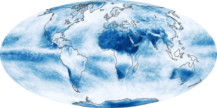 Global Map Cloud Fraction Image 216