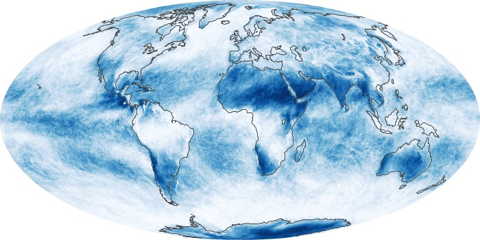 Global Map Cloud Fraction Image 188