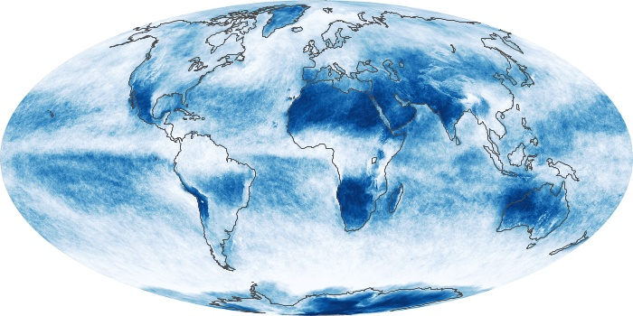Global Map Cloud Fraction Image 203