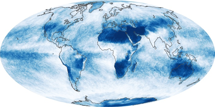 Global Map Cloud Fraction Image 236
