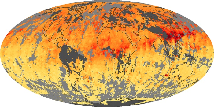 Global Map Carbon Monoxide Image 1