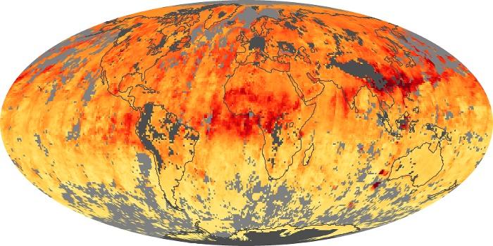 Global Map Carbon Monoxide Image 1