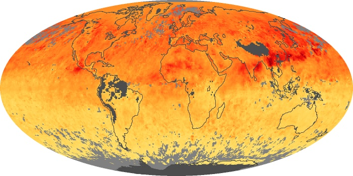 Global Map Carbon Monoxide Image 2