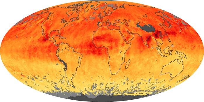 Global Map Carbon Monoxide Image 2