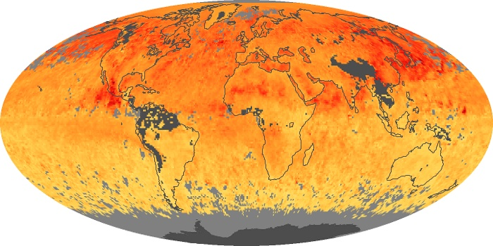Global Map Carbon Monoxide Image 3