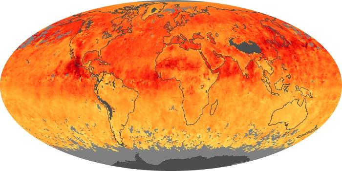 Global Map Carbon Monoxide Image 3
