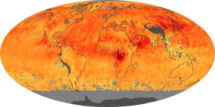 Global Map Carbon Monoxide Image 4