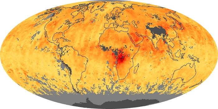 Global Map Carbon Monoxide Image 5
