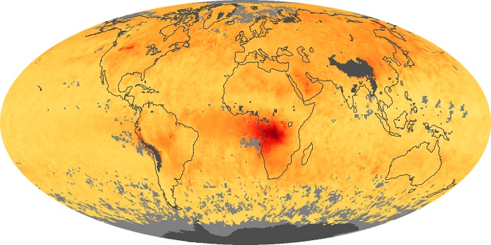 Global Map Carbon Monoxide Image 6