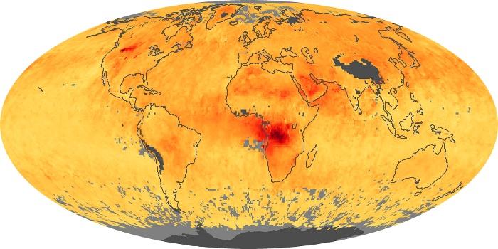 Global Map Carbon Monoxide Image 6