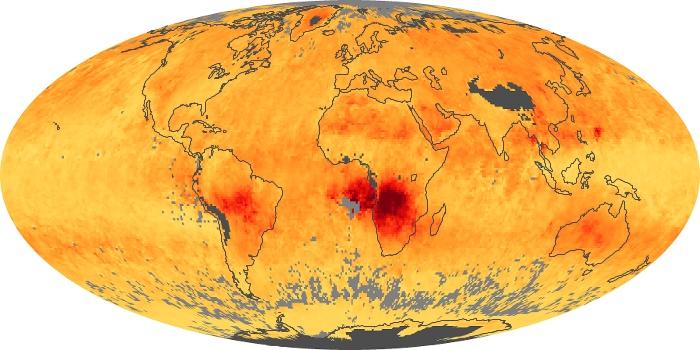Global Map Carbon Monoxide Image 7